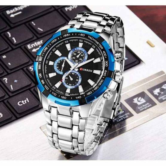 CURREN นาฬิกาข้อมือรุ่น C8023-SI/BL