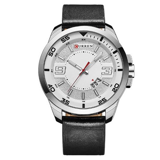 CURREN นาฬิกาข้อมือรุ่น C8213-SI/WH