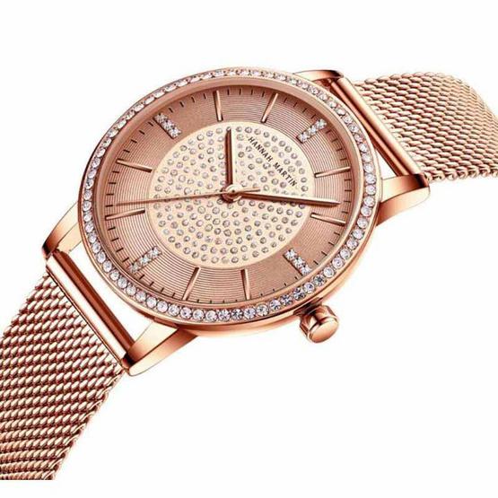 Hannah Matin นาฬิกาข้อมือรุ่น HM1074-RG