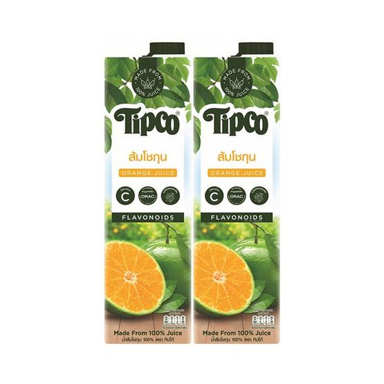 ทิปโก้ น้ำส้มโชกุน 100% 1,000 มล.
