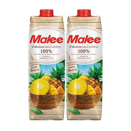 มาลี น้ำสับปะรดนางแลผสมน้ำผลไม้รวม 1,000 มล.