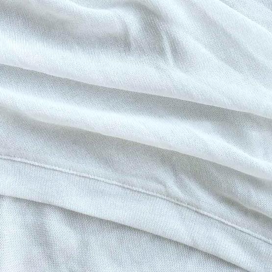 FABIA เสื้อคลุมยาวสีขาวออฟ-ไวท์