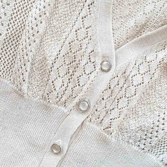 FABIA เสื้อคลุมตัวสั้นสีเบจ