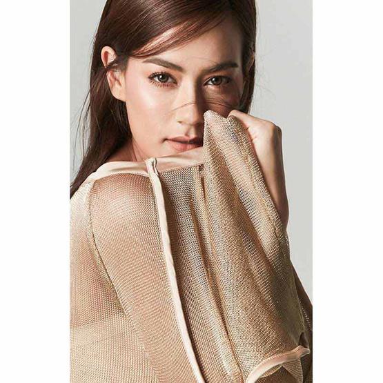 M2S เสื้อแขนยาว สีทอง Kleider By คิมเบอรี่