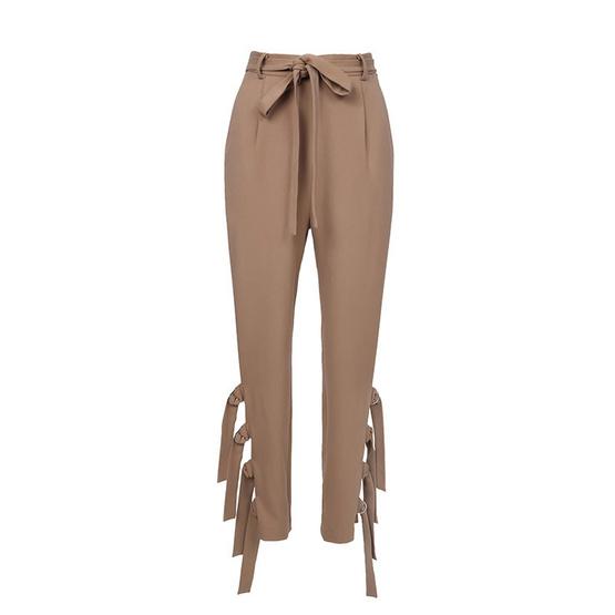 M2S กางเกงขายาว สีน้ำตาล Kleider By คิมเบอรี่