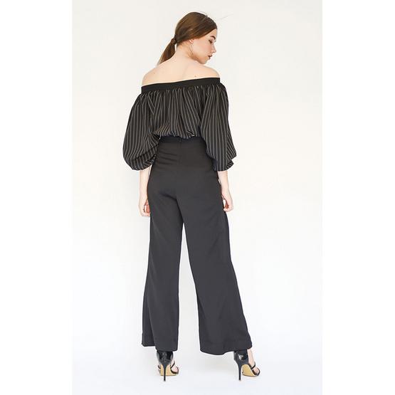 M2S กางเกงขายาว สีดำ Duchess By พิมดาว
