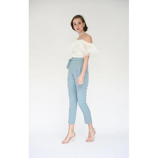 M2S กางเกงขายาว สีฟ้า PunPun's By ปันปัน