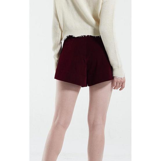 M2S กางเกงขาสั้น สีแดง PunPun's By ปันปัน
