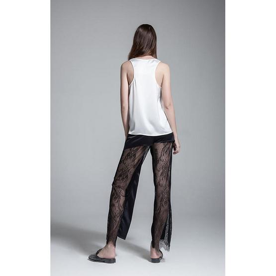 M2S กางเกงขายาว สีดำ PunPun's By ปันปัน