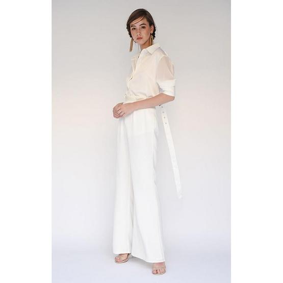 M2S เสื้อเชิ๊ต สีขาว PunPun's By ปันปัน