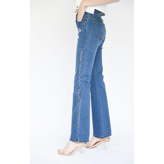 M2S กางเกงยีนส์ สีน้ำเงิน Patt By แพท