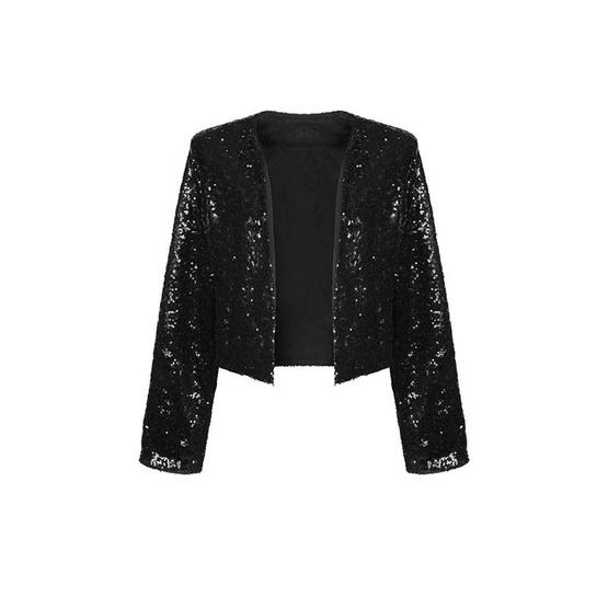 M2S เสื้อแจ็คเก็ต สีดำ Patt By แพท