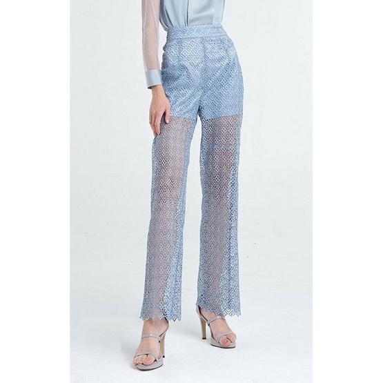 M2S กางเกงขายาว สีฟ้า Ladiiprang By มะปราง
