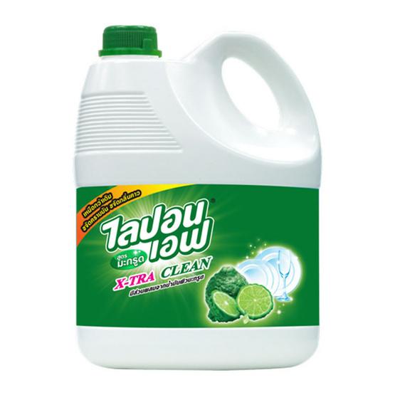 ไลปอนเอฟ น้ำยาล้างจาน กลิ่นมะกรูด 3600 มล.