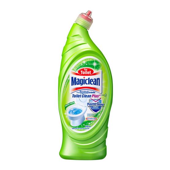 มาจิคลีน ทำความสะอาดโถสุขภัณฑ์ กลิ่นฟอเรสเฟรส 650 มล. (ขวด)