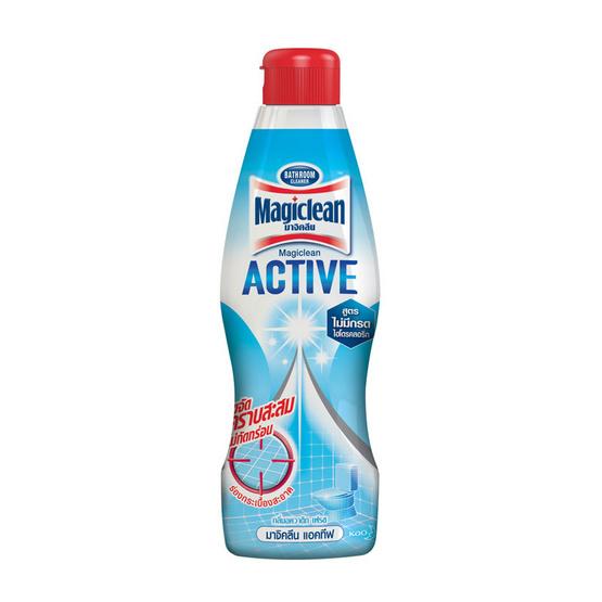 มาจิคลีน ทำความสะอาดห้องน้ำ กลิ่นอควาติกเฟรช 750 มล. (ขวด)