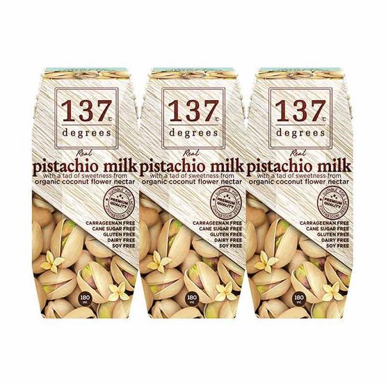 137 ดีกรี นมพิตาชิโอ สูตรดั้งเดิม 180 มล. (แพ็ก 3 กล่อง)