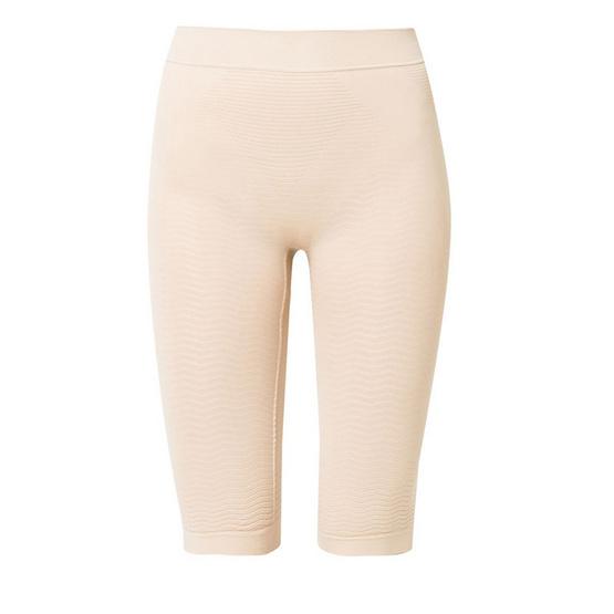 Swans กางเกงขาสั้น กระชับสัดส่วน สีเนื้อ