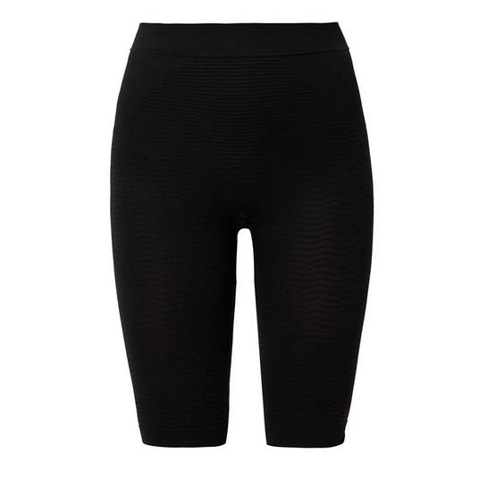 Swans กางเกงขาสั้น กระชับสัดส่วน สีดำ