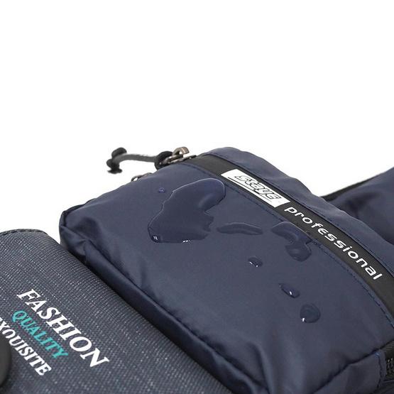 HQ LUGGAGE กระเป๋าคาดอก กระเป๋าสะพายพาดลำตัว Sky-bow รุ่น 9932 (สีกรม)
