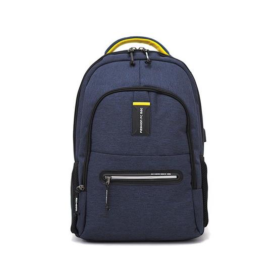 HQ LUGGAGE กระเป๋าเป้ โน้ตบุ๊ค Sky-bow รุ่น P9927 (สีกรม)