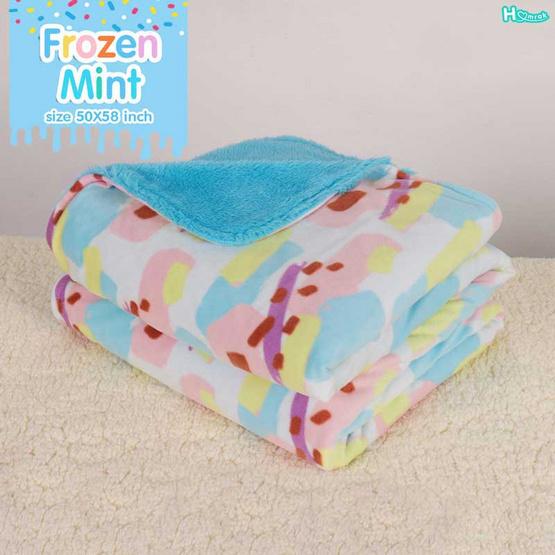 Homrak ผ้าห่ม Frozen 50x58 นิ้ว