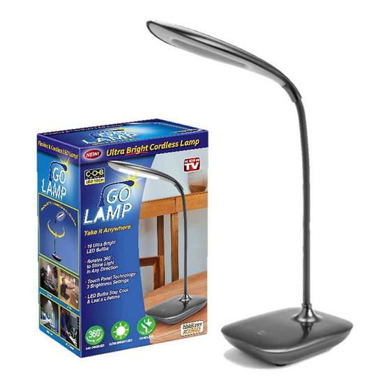 TV Direct GO LAMP โคมไฟส่องสว่างแบบพกพา 3 ชิ้น
