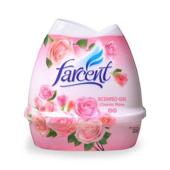 Farcent เจลหอมปรับอากาศ กลิ่นกุหลาบ 200 กรัม (แพ็ก 3 ชิ้น)