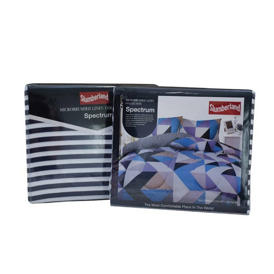 Slumberland เซ็ทผ้าปูที่นอน Microbrush รุ่น Spectrum