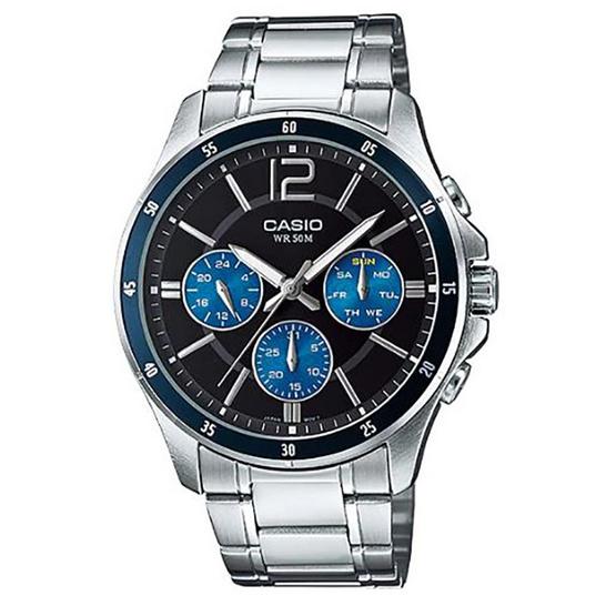 Casio นาฬิกาข้อมือ รุ่น MTP-1374D-2AVDF
