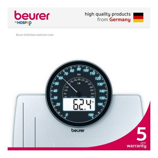 beurer เครื่องชั่งน้ำหนักดิจิตอล GS58