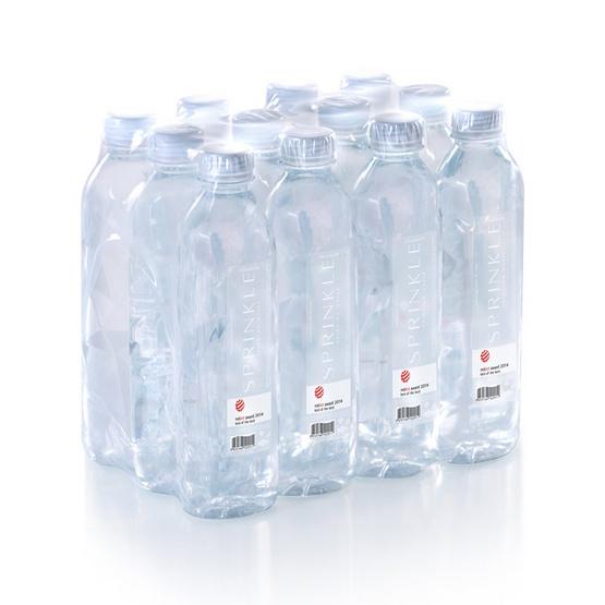 น้ำดื่มสปริงเคิล 550 มล. (แพ็ก 12 ขวด)