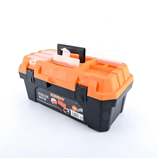 KENDO 90257 กล่องเครื่องมือพลาสติก
