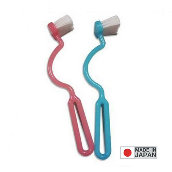 OKAZAKI แปรงขัดขอบโถสุขภัณฑ์ (สินค้านำเข้าจากญี่ปุ่น)