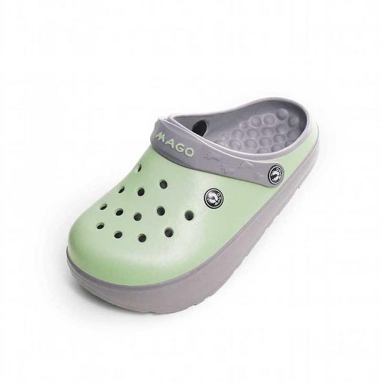 MAGO รุ่น BAMBO สีเขียวพาสเทล รองเท้าสุขภาพ
