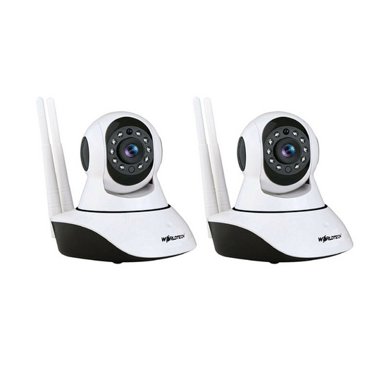 Worldtech กล้องวงจรปิด IP Camera รุ่น WT-CCM002IP1080P Set2