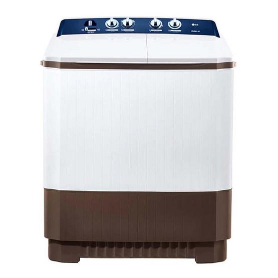 LG เครื่องซักผ้า 2 ถัง ขนาด 11 กิโลกรัม รุ่น TT11NARG