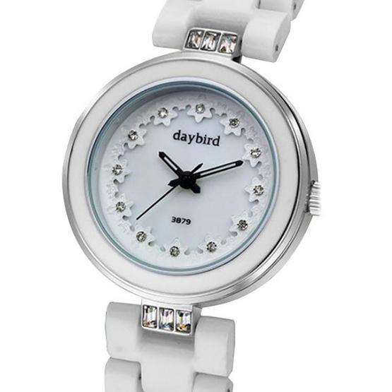 Daybird นาฬิกาข้อมือ รุ่น D3879-W/S