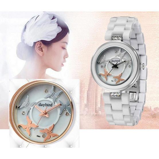 Daybird นาฬิกาข้อมือ รุ่น D3880-WS