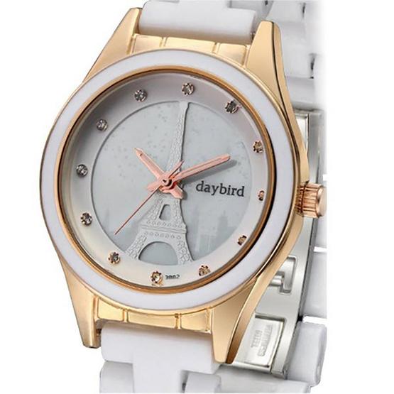 Daybird นาฬิกาข้อมือ รุ่น D3882-W/G