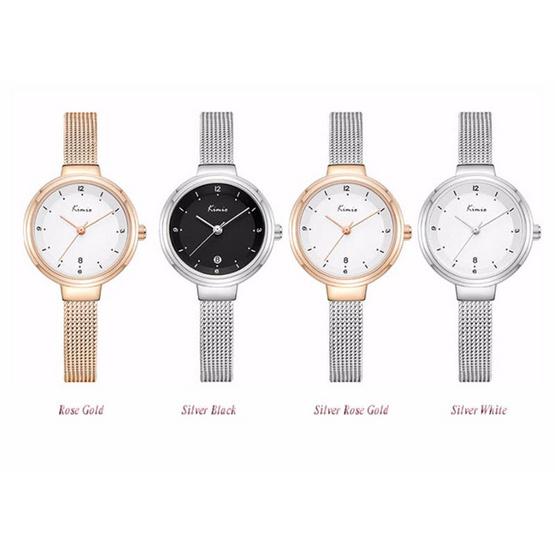 KIMIO นาฬิกาข้อมือ รุ่น KW6248-SI/BK