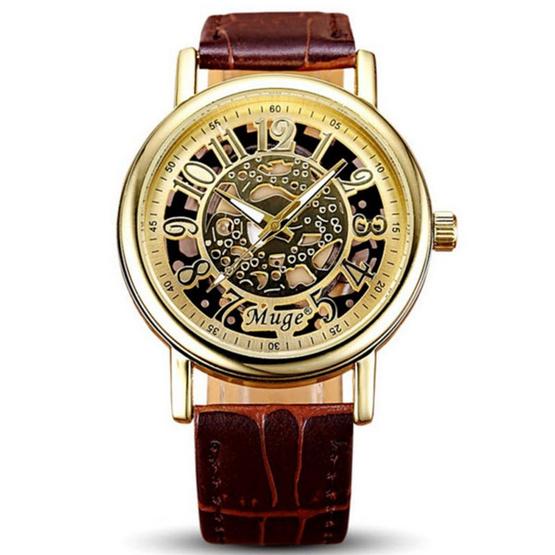 Muge นาฬิกาข้อมือ รุ่น MG045-BR/GO