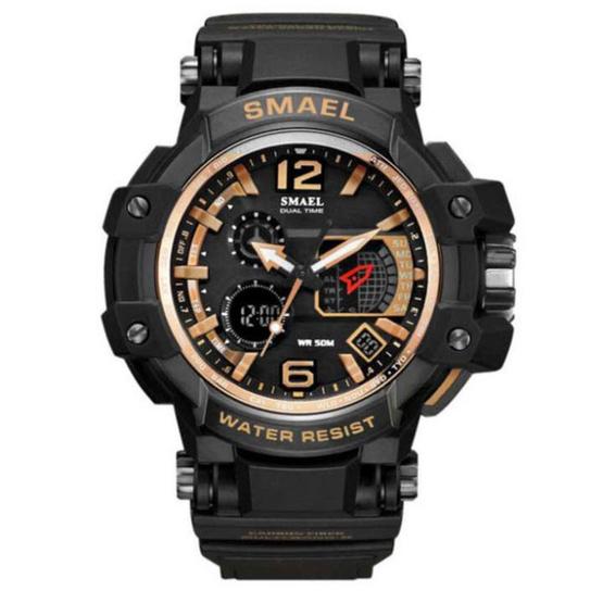 SMAEL นาฬิกาข้อมือ รุ่น Sm1509-BK/RG