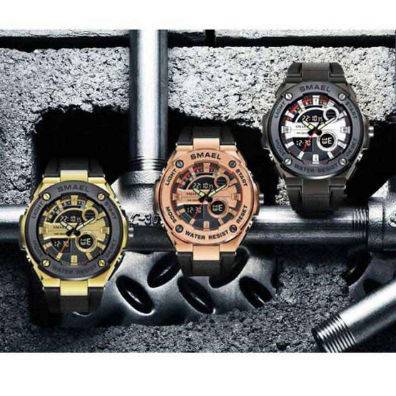 SMAEL นาฬิกาข้อมือ รุ่น SM1625-BK/GO