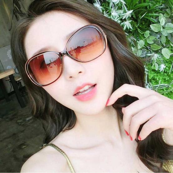 Fancyqube แว่นตากันแดดแฟชั่น CT9509-BR
