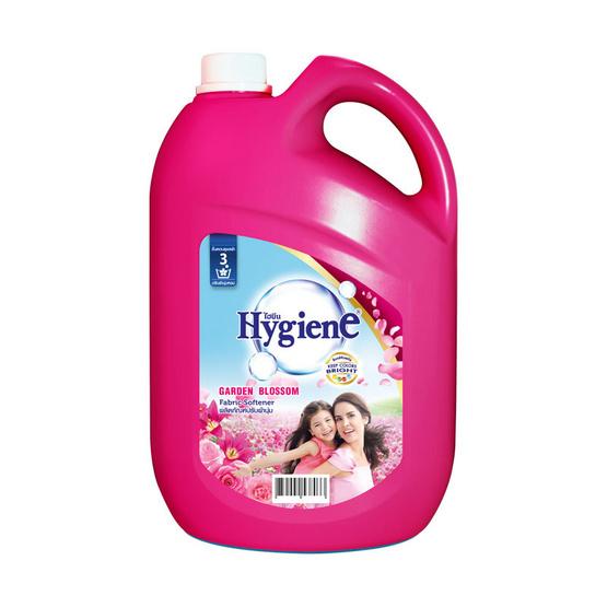 ไฮยีน กาเด้นบลอสชั่นปรับผ้านุ่ม สีชมพูเข้ม 3500 มล.
