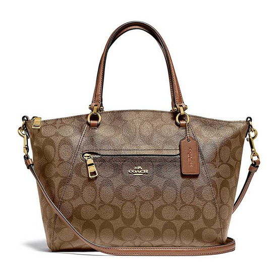 COACH F79998 PRAIRIE SATCHEL IN SIGNATURE CANVAS (IME74) [MCF79998IME74-CV]
