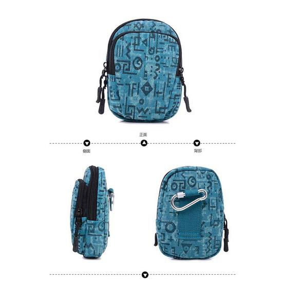 OSAKA รุ่น NK324 กระเป๋าคาดเอว สีน้ำตาลเข้ม