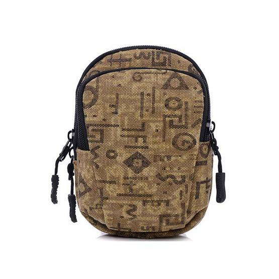 OSAKA รุ่น NK324 กระเป๋าคาดเอว สีน้ำตาลอ่อน