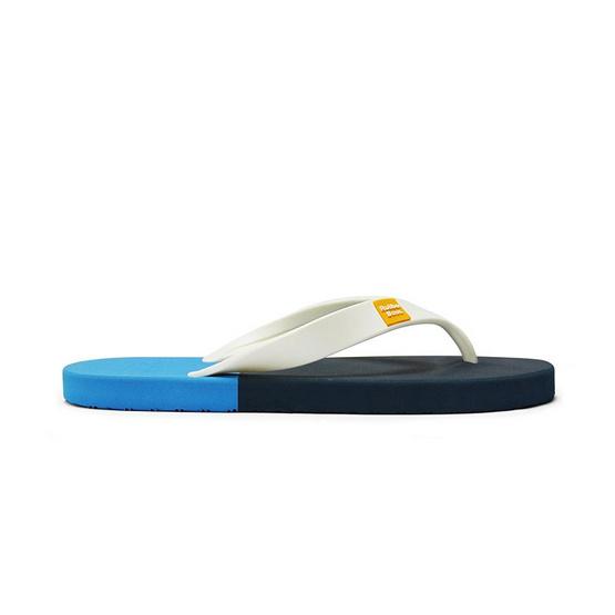 Rubber Soul รองเท้าแตะ รุ่น BALANCE สีกรม-ฟ้า
